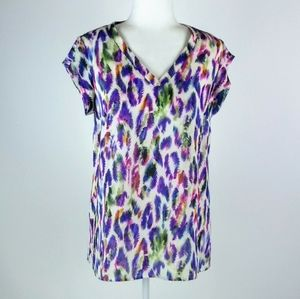 Cabi long tunic type top size small